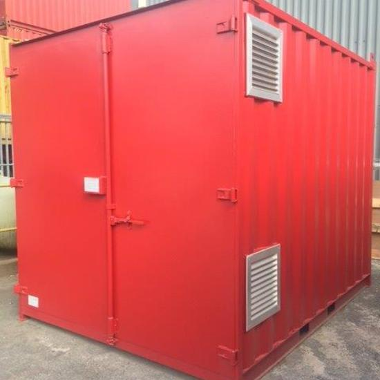 10ft Converted Chemical Store Container for Sale