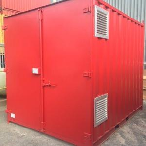 10ft Converted Chemical Store Container