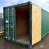Single Trip Shipping Container Conversion with OSB lining