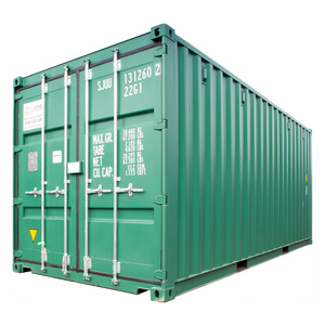 Single Trip NEW 20ft ISO Shipping Container - Green RAL6028